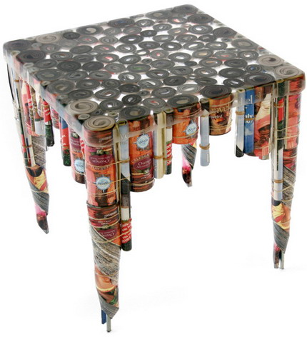 interesting recycled furniture idea