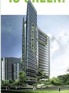 Ken Yeang concept building