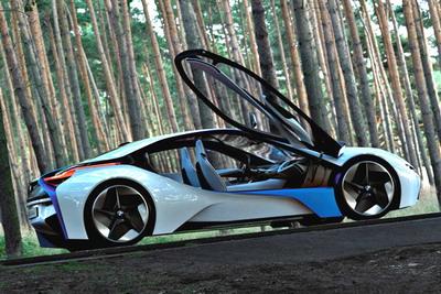 bmw concept car