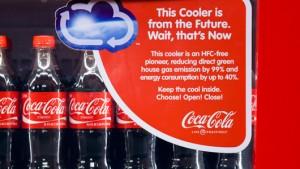 New Coca-Cola Vending Machine