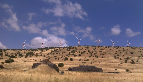 wind turbine in Israel